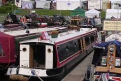Showing at Crick Boat Show